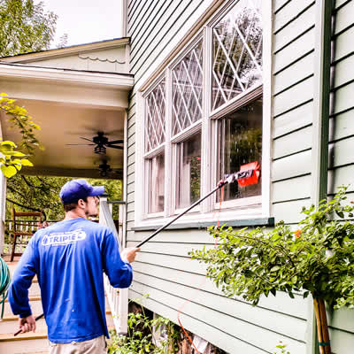Window Cleaning in Montclair By Triple C